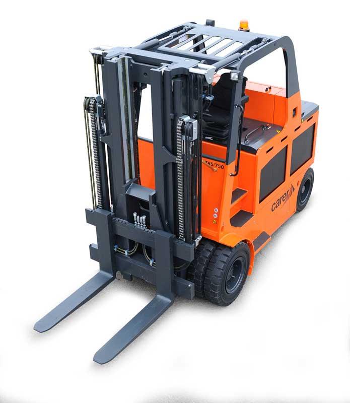 Z80 900 H Z100 H Compact Electric Forklift Carer Forklifts