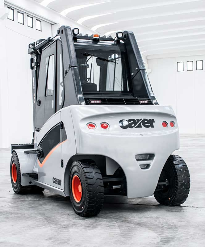 Carer Forklifts Launches A Series Electric Forklift at CeMat
